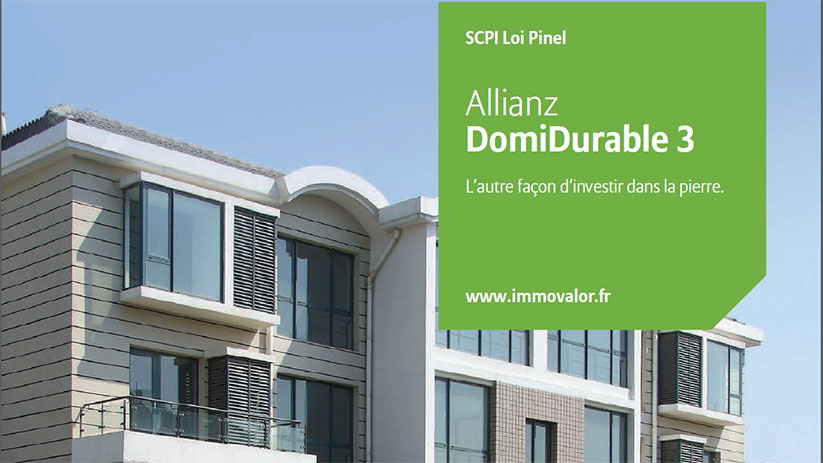 Allianz lance sa SCPI Pinel