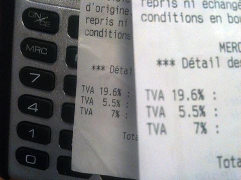 Tva quels produits et services aux taux de 5 5 10 et 20 for Taux de tva sur les travaux